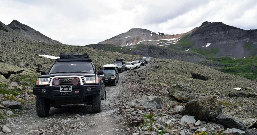Black Bear Pass Colorado >> Rollover On Black Bear Pass During 100s In The Hills Outdoorx4