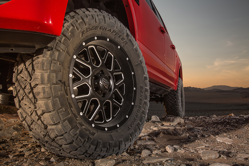 nitto tire releases all new ridge grappler light truck. Black Bedroom Furniture Sets. Home Design Ideas