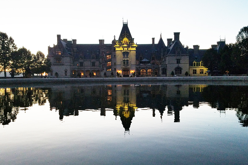 The Biltmore House. Photo by Anthony Sicola.