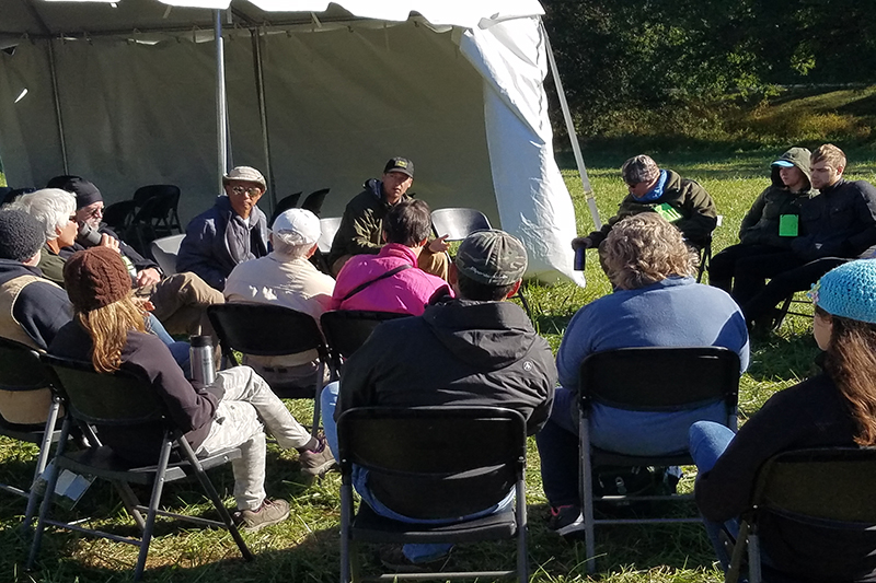 One of the many roundtable discussions and seminars held throughout the weekend. Photo by Anthony Sicola.