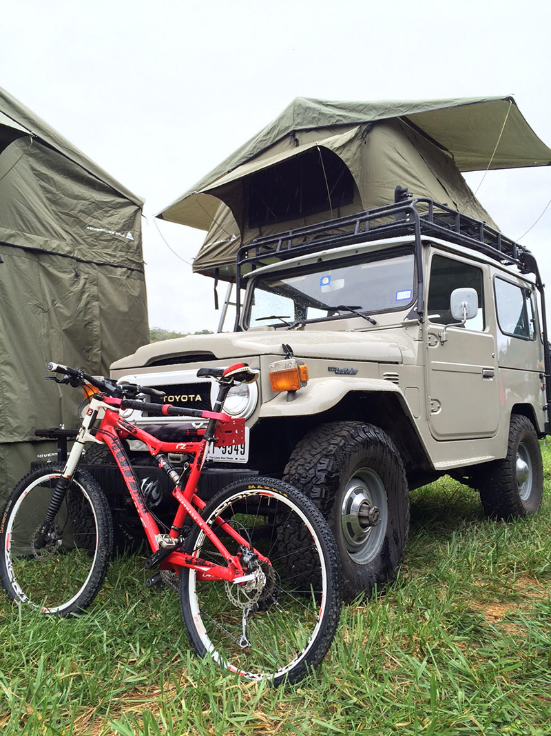 A beautiful Toyota FJ highlighting the adventure lifestyle.