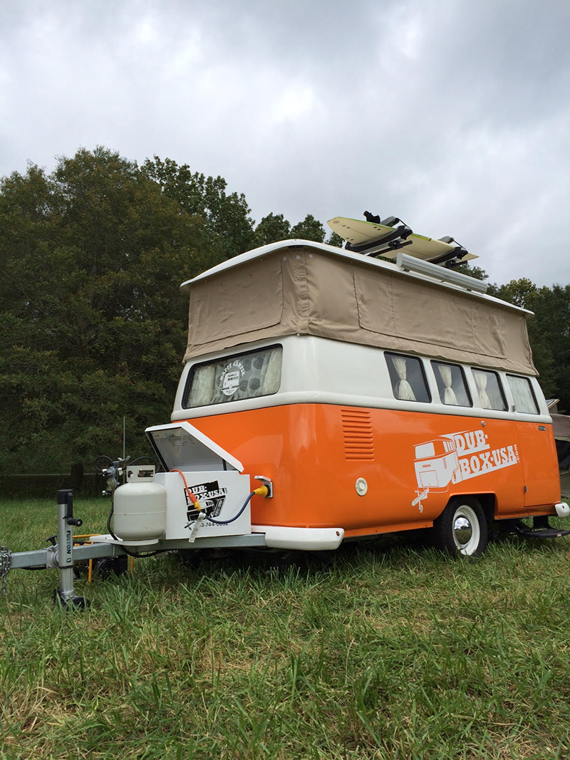 This VW van-based trailer from Dub Box was just too cool not to share.
