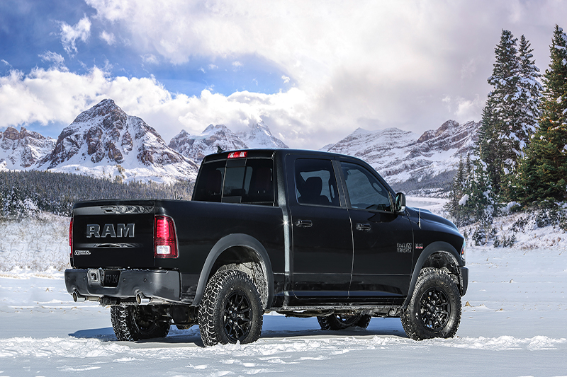 ram truck announces new 1500 rebel black outdoorx4. Black Bedroom Furniture Sets. Home Design Ideas