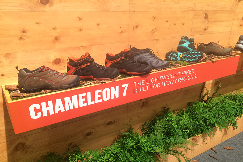 The new Chameleon 7 collection is lightweight and stylish for the trails and around town.