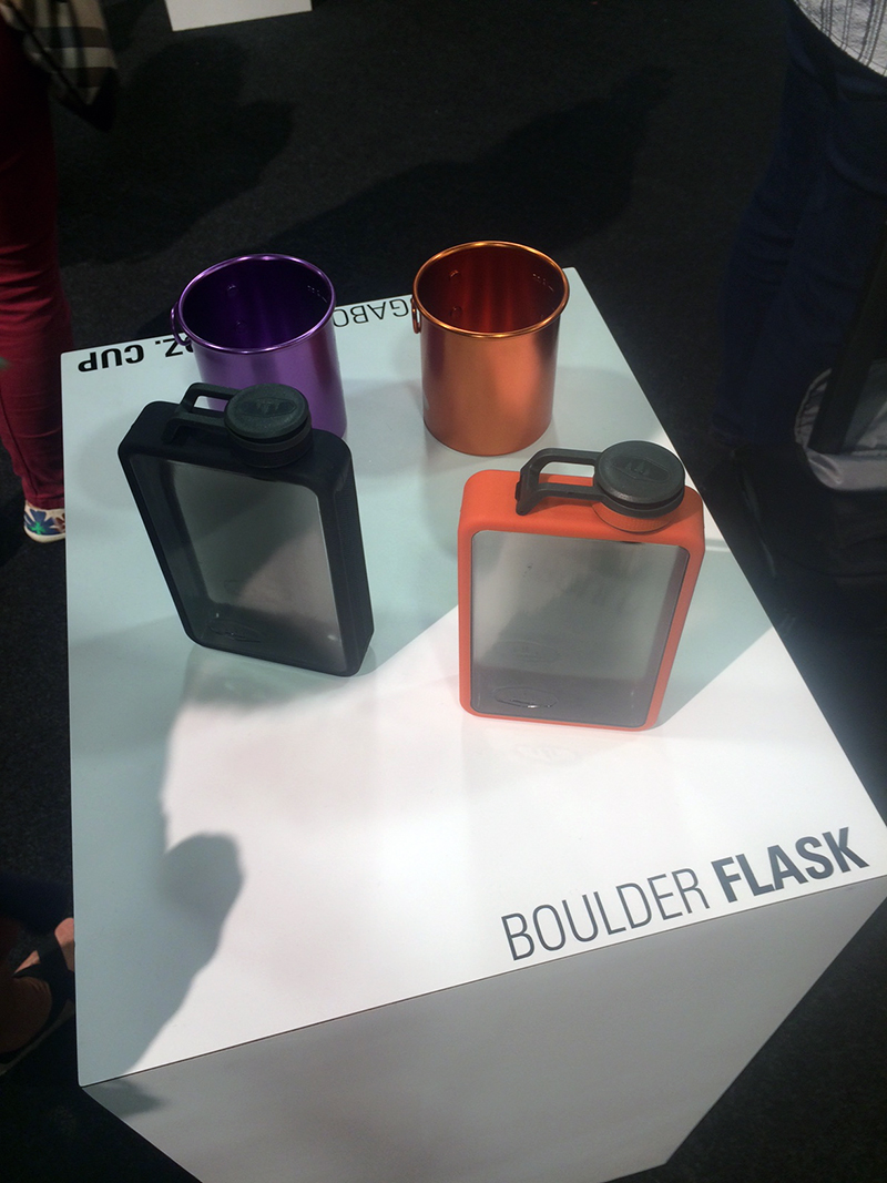 GSI's new Boulder Flask is built to be durable while on a vehicle-based or backcountry adventure.