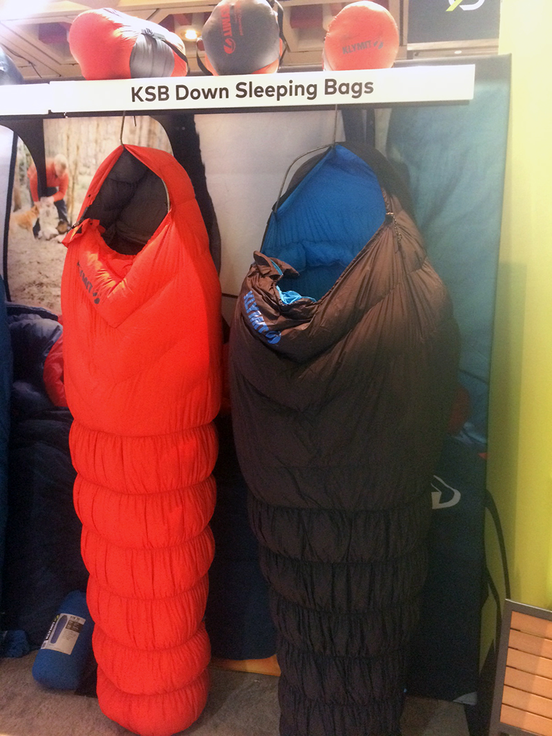 Klymit's sleeping bag line-up features down fill, light weight and conforming design to keep you warm and comfortable while in the backcountry.