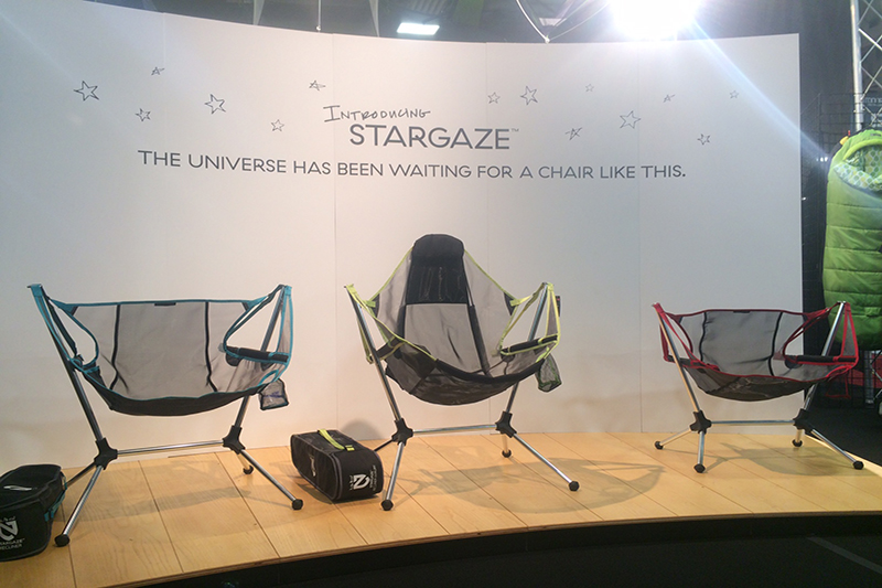 The new Stargazer camp chair line-up is comfortable, quick to setup and aesthetically the nicest I've probably seen.