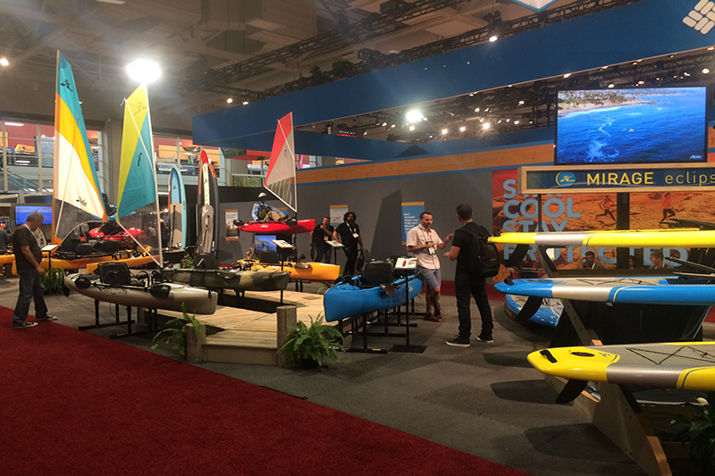 For those who enjoy paddling, Hobie has an updated line-up featuring hard shell and inflatable kayaks.