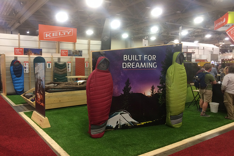 Kelty has a variety of moderately priced and extremely functional new sleeping bags and other outdoors gear coming out later this fall.