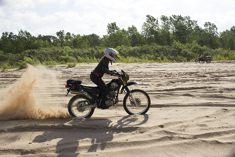 Learning to Ride - OutdoorX4